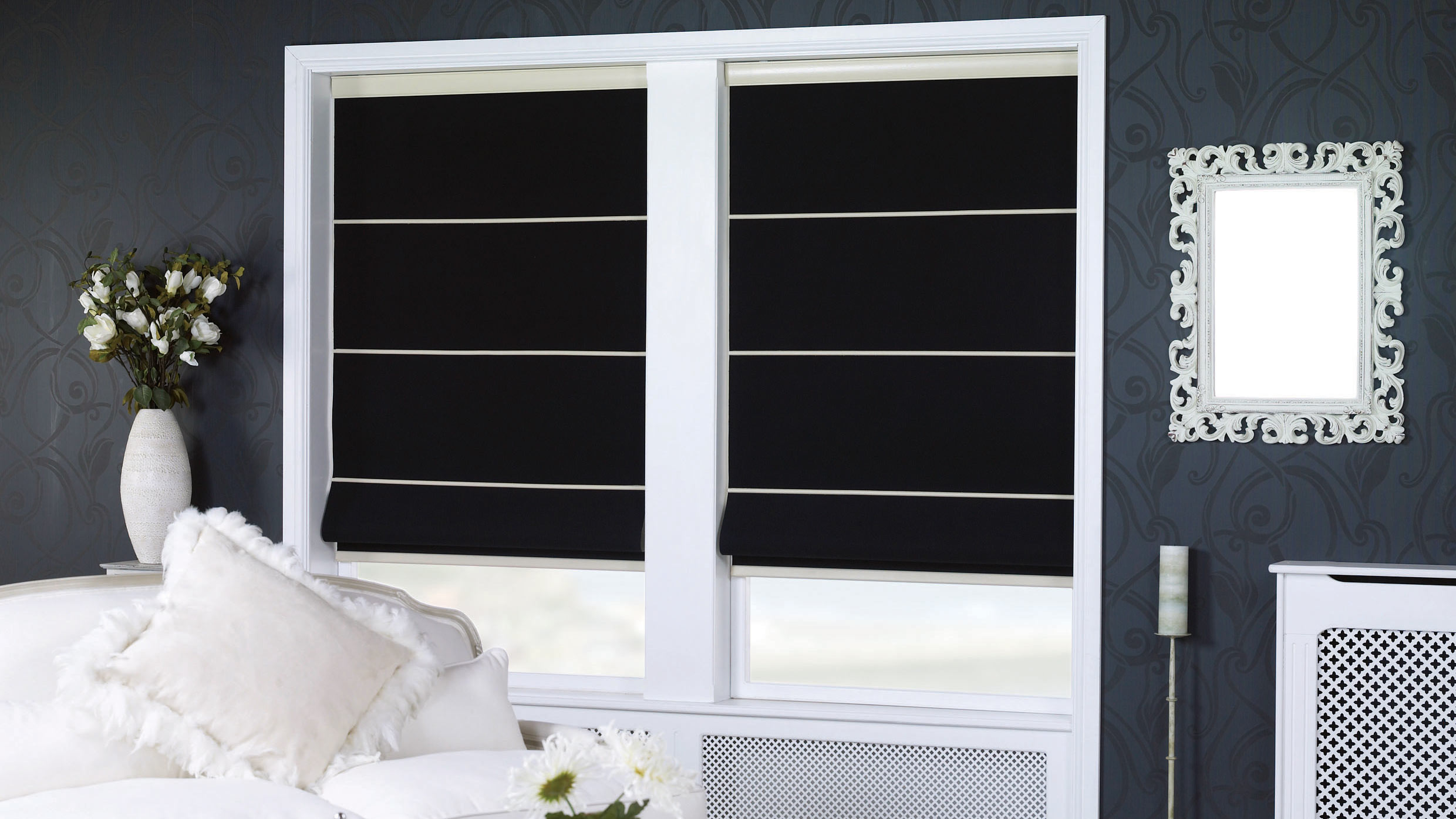 roman blinds - Littlehampton Blinds