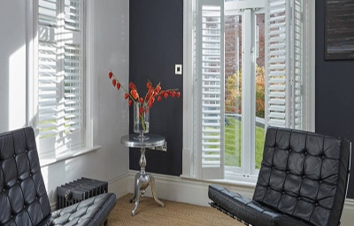 Wood Interior Shutters Luxaflex - Sussex blinds company