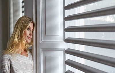 Pirouette Shades Luxaflex - Sussex blinds company